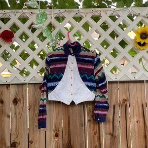 90's crop top vest.